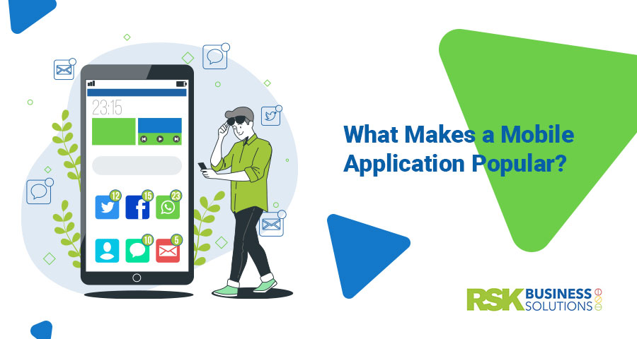 what makes a mobile app popular