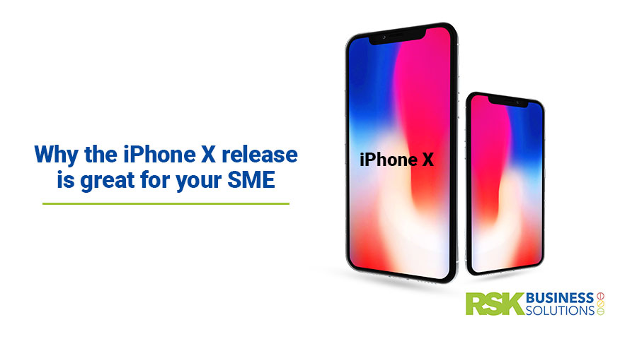 Why the iPhone X release is great for your SME